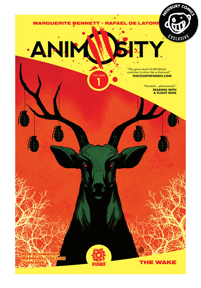 AFTERSHOCK COMICS Animosity Vol 1 Exclusive Variant Graphic Novel