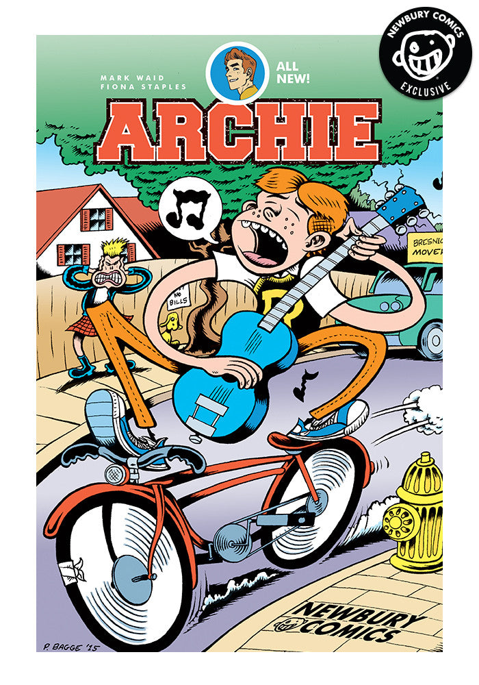 ARCHIE COMICS Archie #1 - Peter Bagge Exclusive Cover