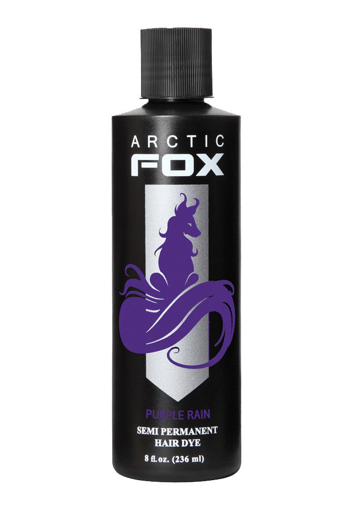 Arctic Fox 8 Oz Semi Permanent Hair Dye Purple Rain