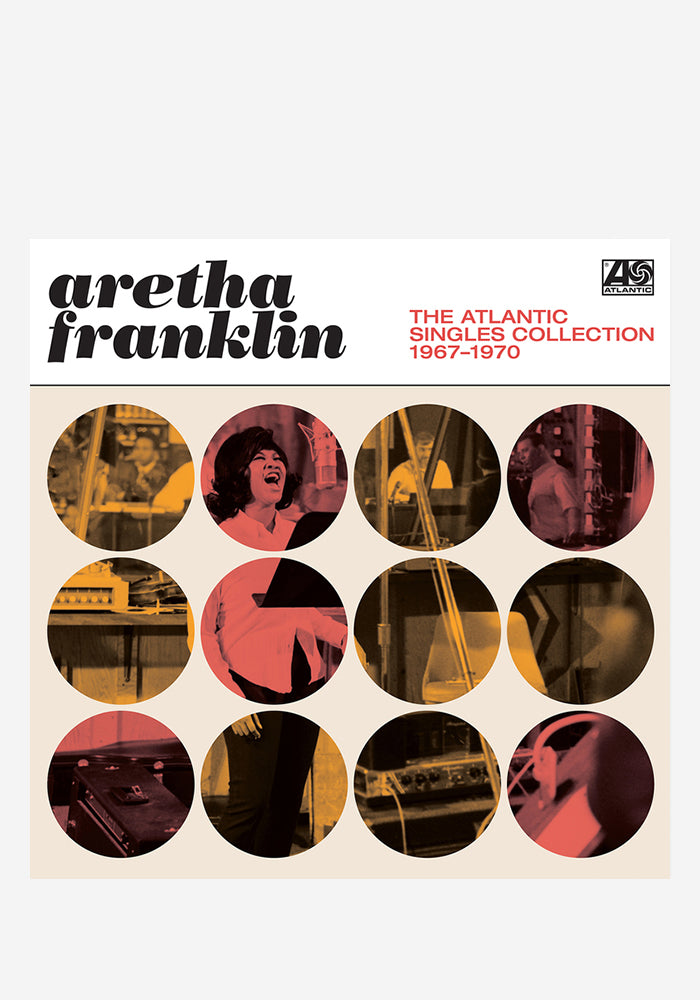 ARETHA FRANKLIN The Atlantic Singles Collection 1967-1970 2 LP