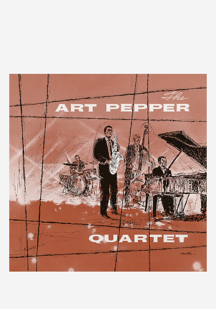 ART PEPPER Art Pepper Quartet LP