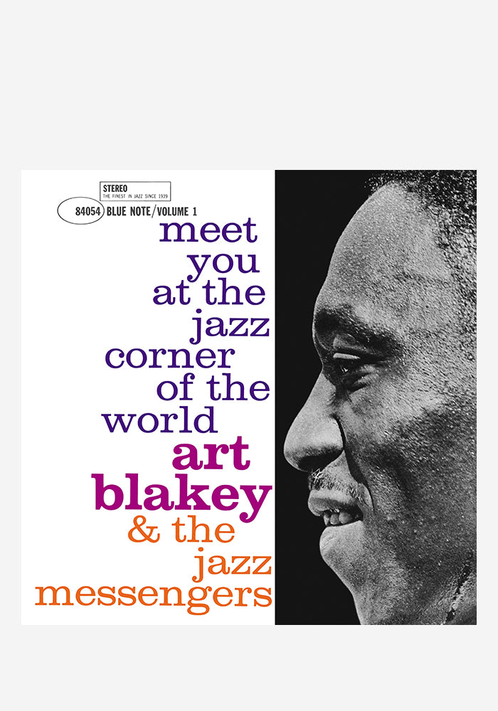 ART BLAKEY & THE JAZZ MESSENGERS Meet You At The Jazz Corner Of The World, Vol. 1 LP