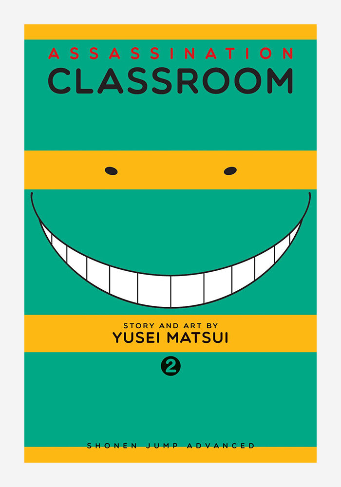 VIZ MEDIA Assassination Classroom Vol 2 Manga