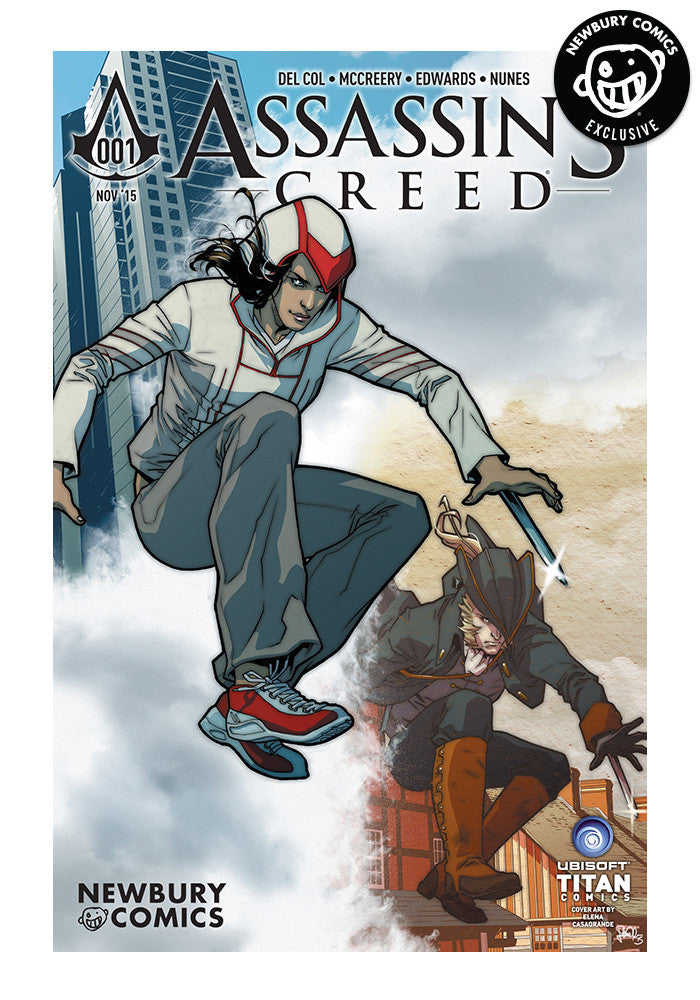 TITAN COMICS Assassin's Creed #1 - Elena Casagrande Exclusive Cover
