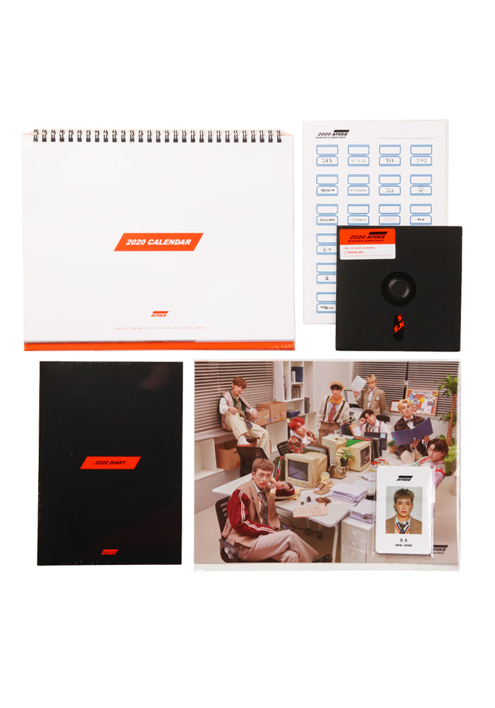 ATEEZ ATEEZ Seasons Greetings 2020 Box Set