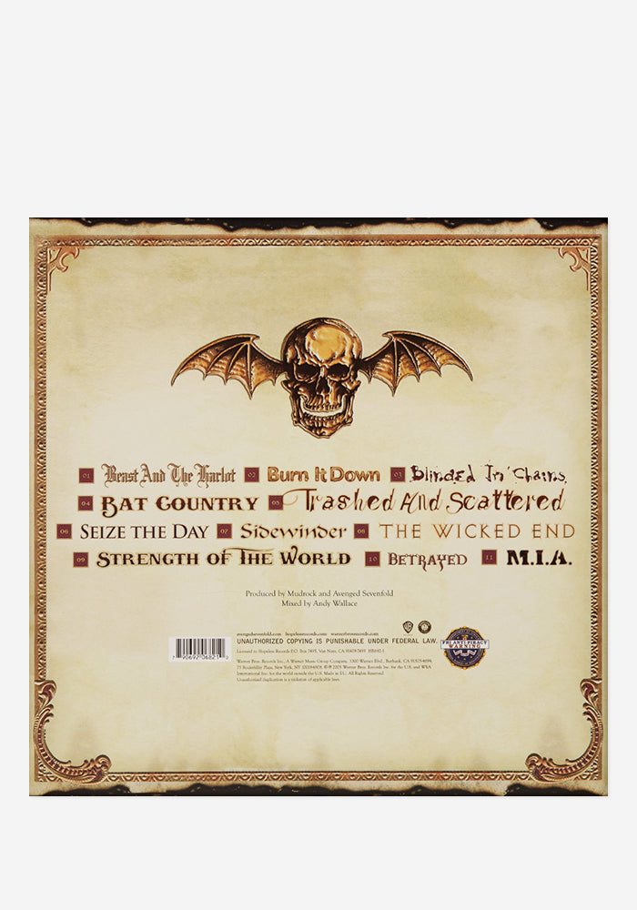 AVENGED SEVENFOLD City Of Evil Exclusive 2 LP