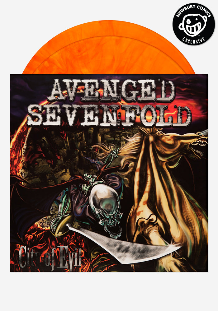 Avenged Sevenfold City Of Evil Exclusive Lp Newbury Comics