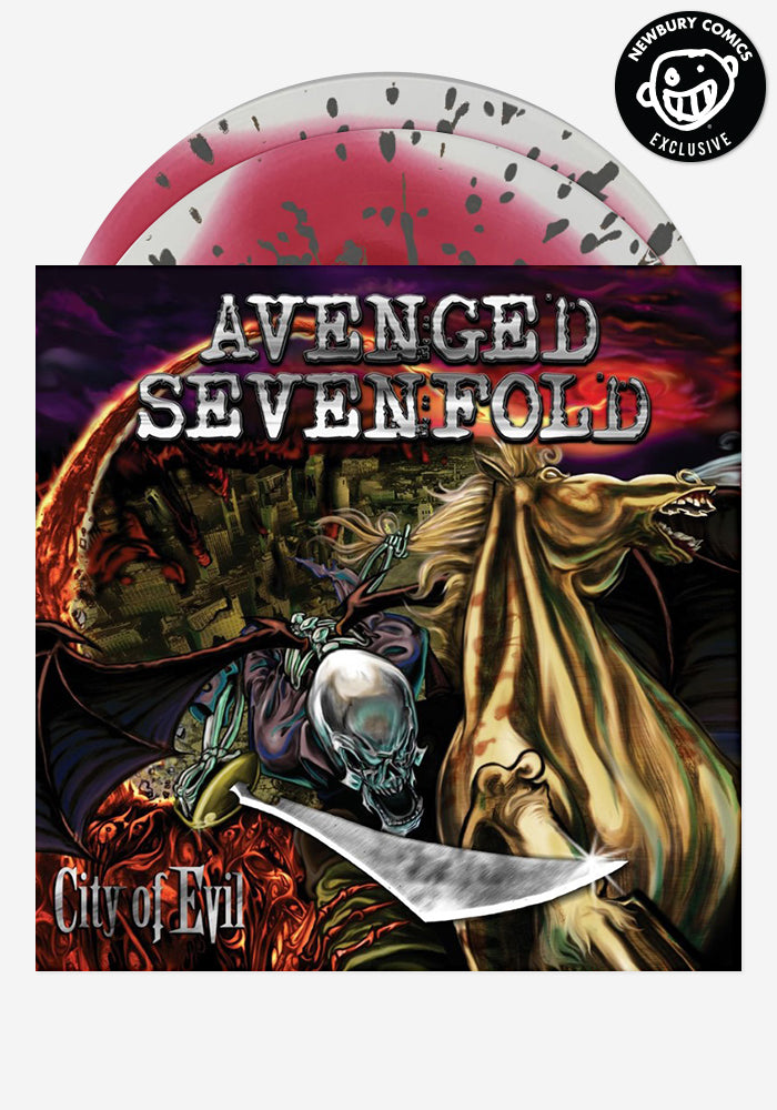 AVENGED SEVENFOLD City Of Evil Exclusive 2LP