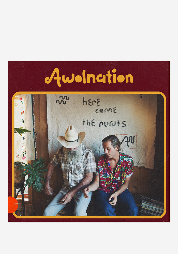 AWOLNATION Here Come The Runts With Autographed CD Jacket