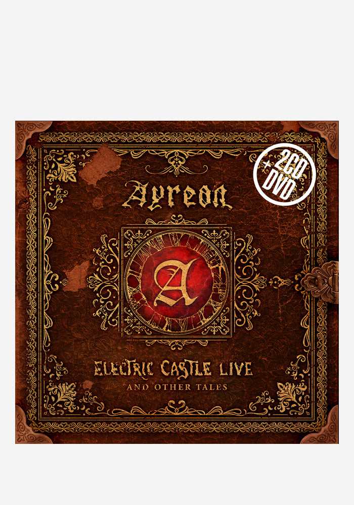 AYREON Electric Castle Live And Other Tales 2CD+DVD (Autographed)