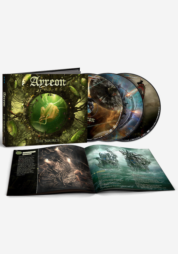 AYREON The Source 2CD/DVD With Autographed Postcard