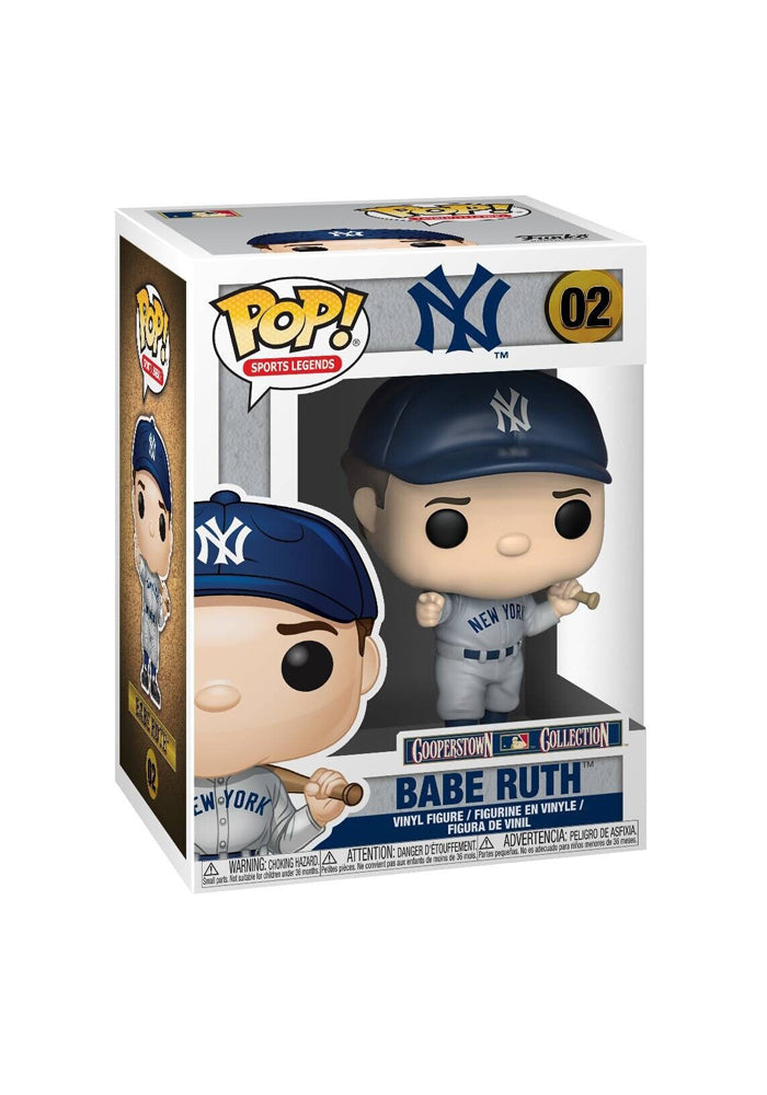 BABE RUTH Funko Pop! Sports Icons - Babe Ruth