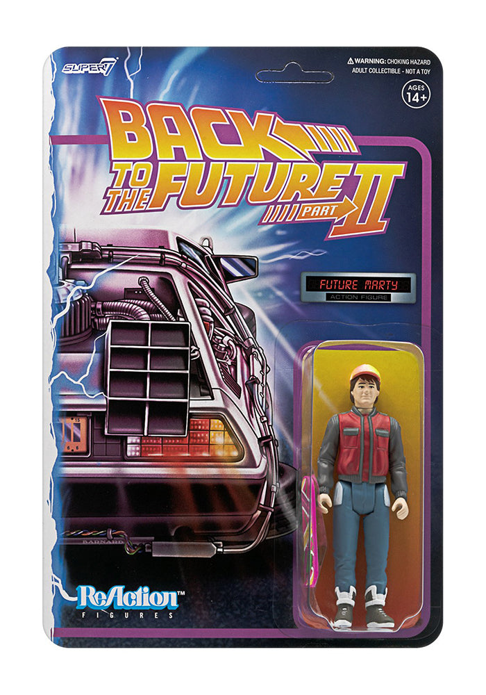 BACK TO THE FUTURE Back to the Future Part II ReAction Figure - Future Marty