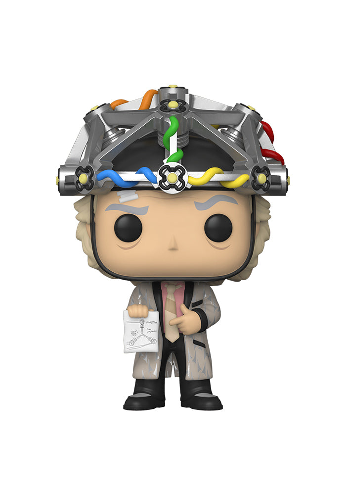 BACK TO THE FUTURE Funko Pop! Movies: Back To The Future - Doc Brown With Helmet