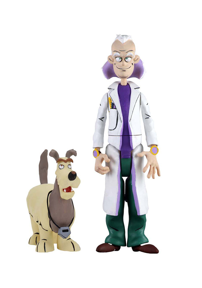 BACK TO THE FUTURE Toony Classics 6-Inch Action Figure - Doc Brown & Einstein
