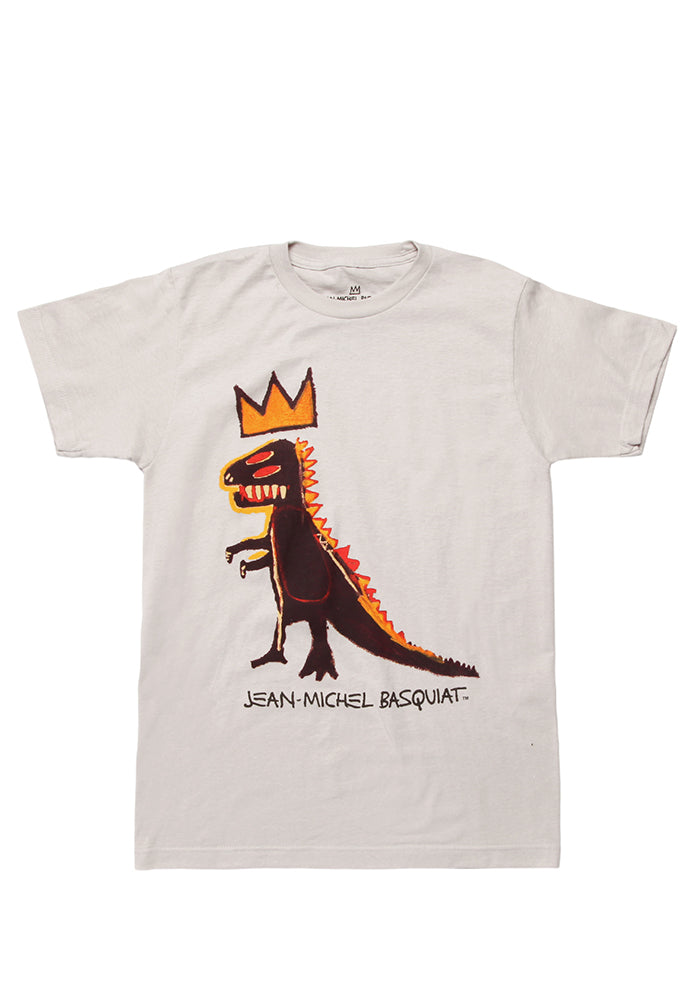 BASQUIAT Basquiat Crowned Dinosaur T-Shirt
