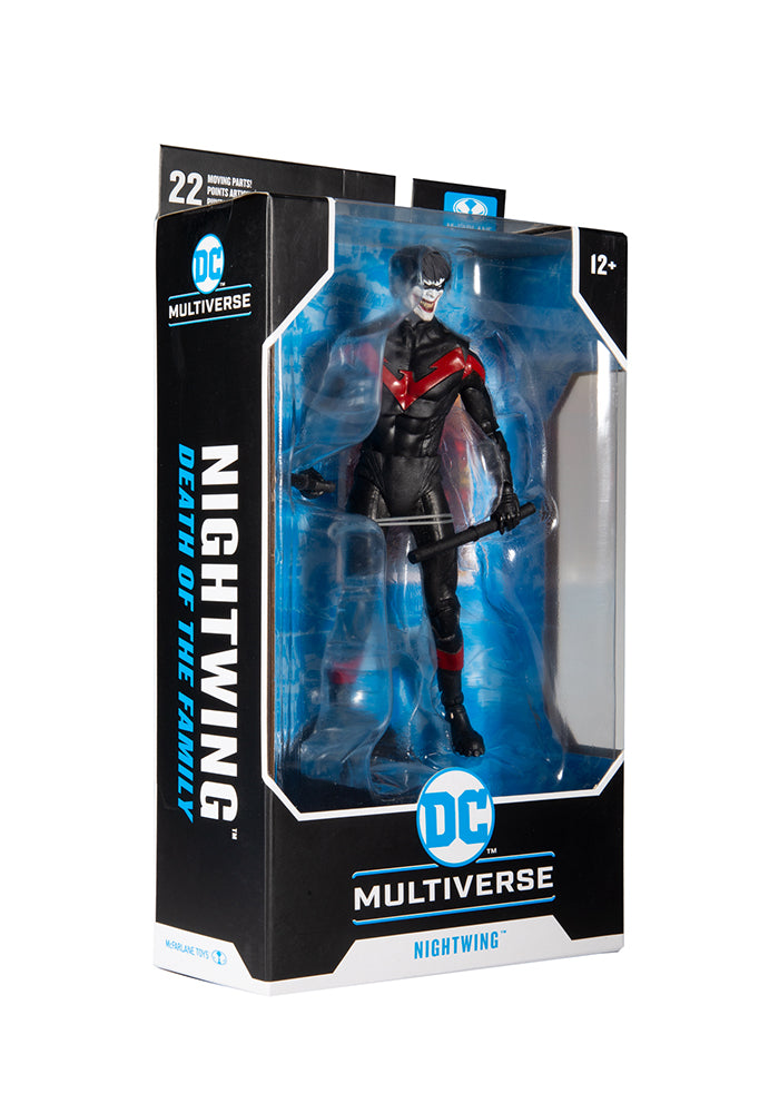 BATMAN DC Multiverse Death of the Family 7-Inch Action Figure - Nightwing (Joker)