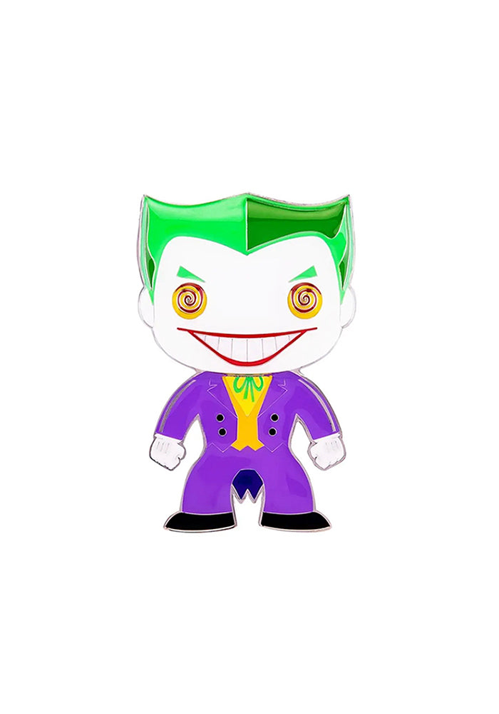 BATMAN Funko Pop! 4-Inch Enamel Pin: DC Comics - Joker