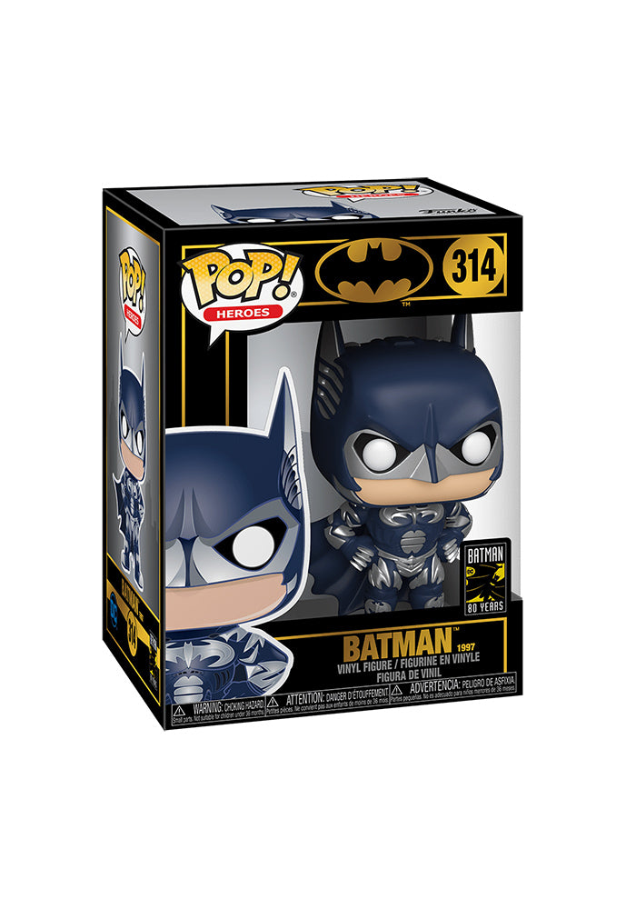 BATMAN Funko Pop! Heroes: Batman - Batman & Robin 1997 Batman