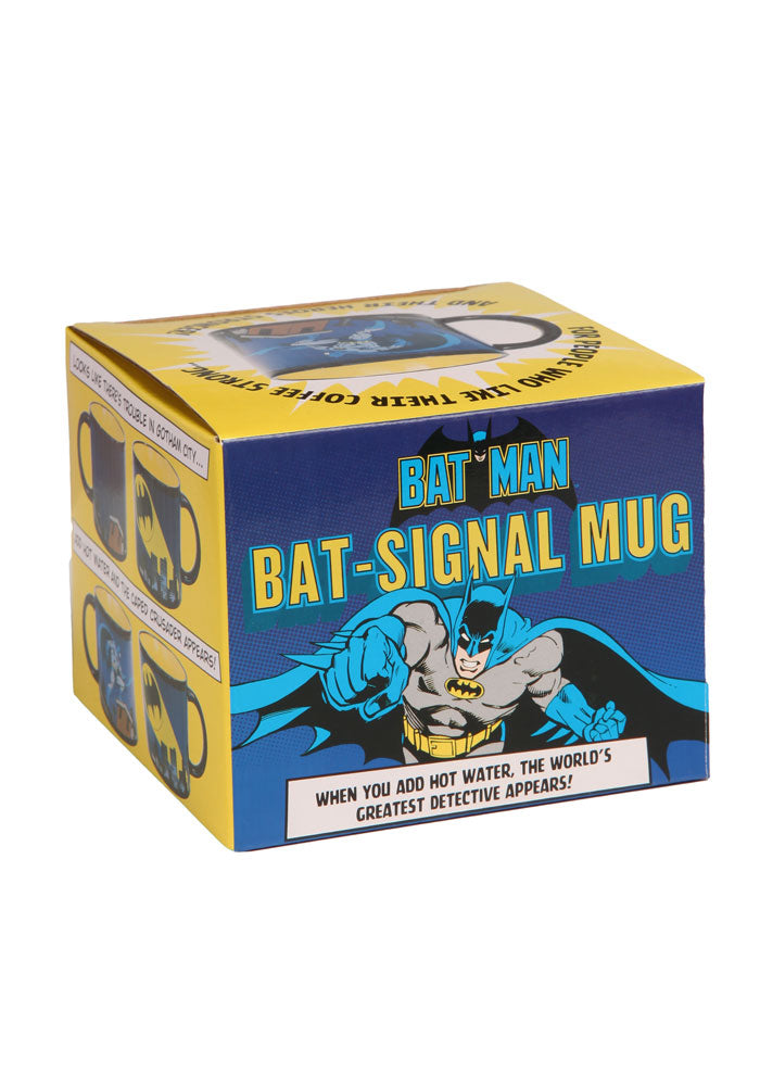 BATMAN Bat Signal Heat Changing Mug