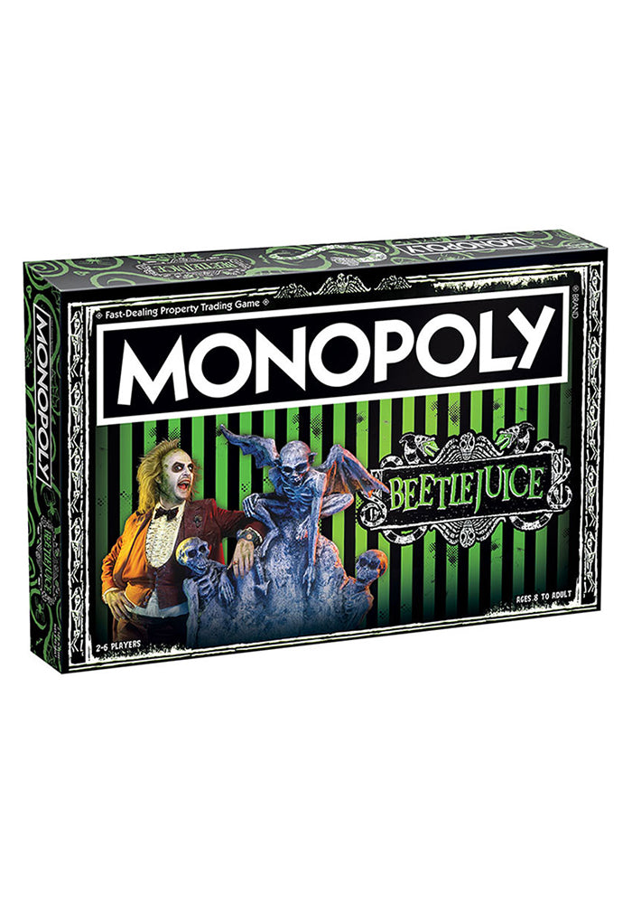 BEETLEJUICE Monopoly: Beetlejuice Edition Board Game