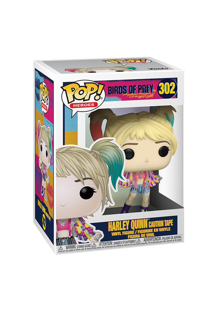 BIRDS OF PREY Funko Pop! Heroes: Birds of Prey - Harley Quinn Caution Tape
