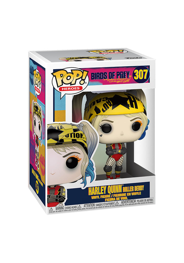 BIRDS OF PREY Funko Pop! Heroes: Birds of Prey - Harley Quinn Roller Derby