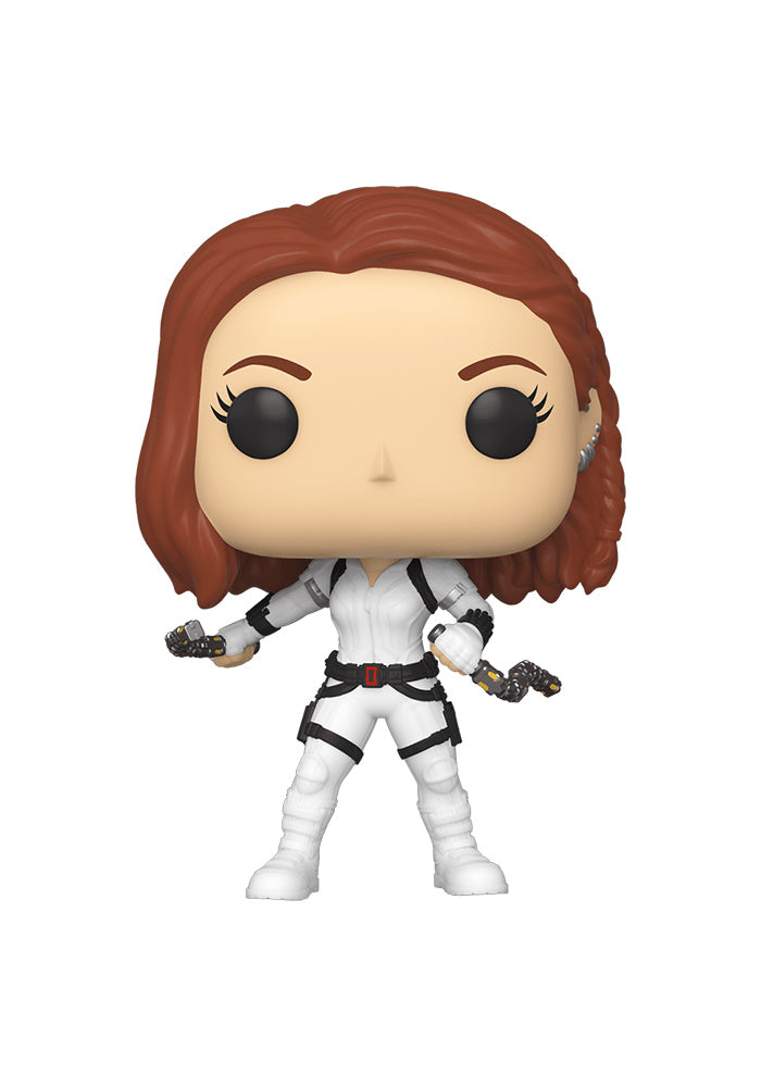 BLACK WIDOW Funko Pop! Marvel: Black Widow - Black Widow White Suit
