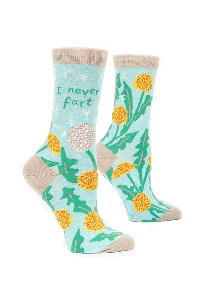 BLUE Q I Never Fart Women's Socks