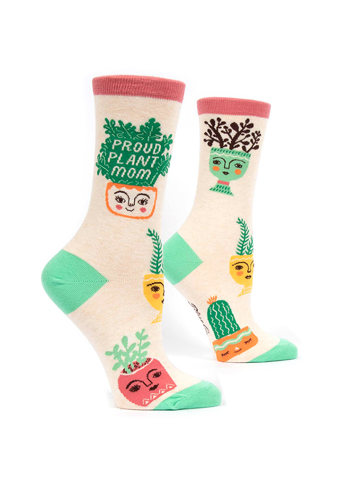 BLUE Q Proud Plant Mom Women's Socks
