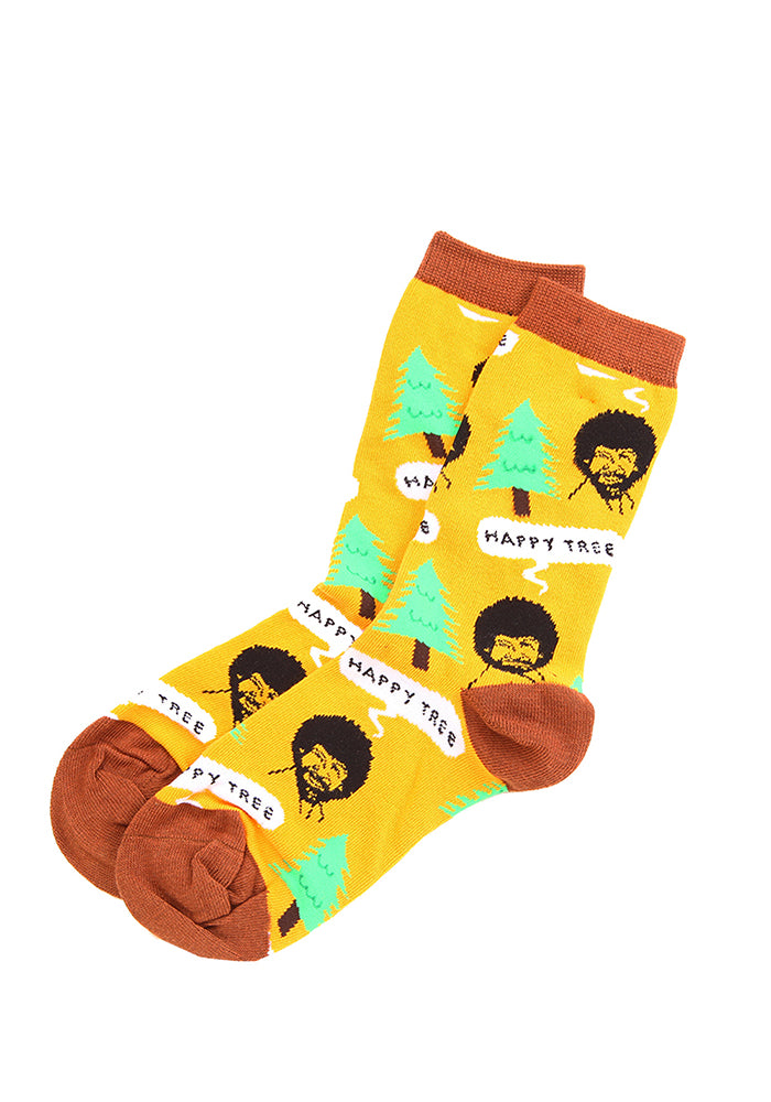 BOB ROSS Happy Tree Women's Socks