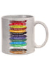 BOB ROSS Sketch Paint Palette Colors Mug