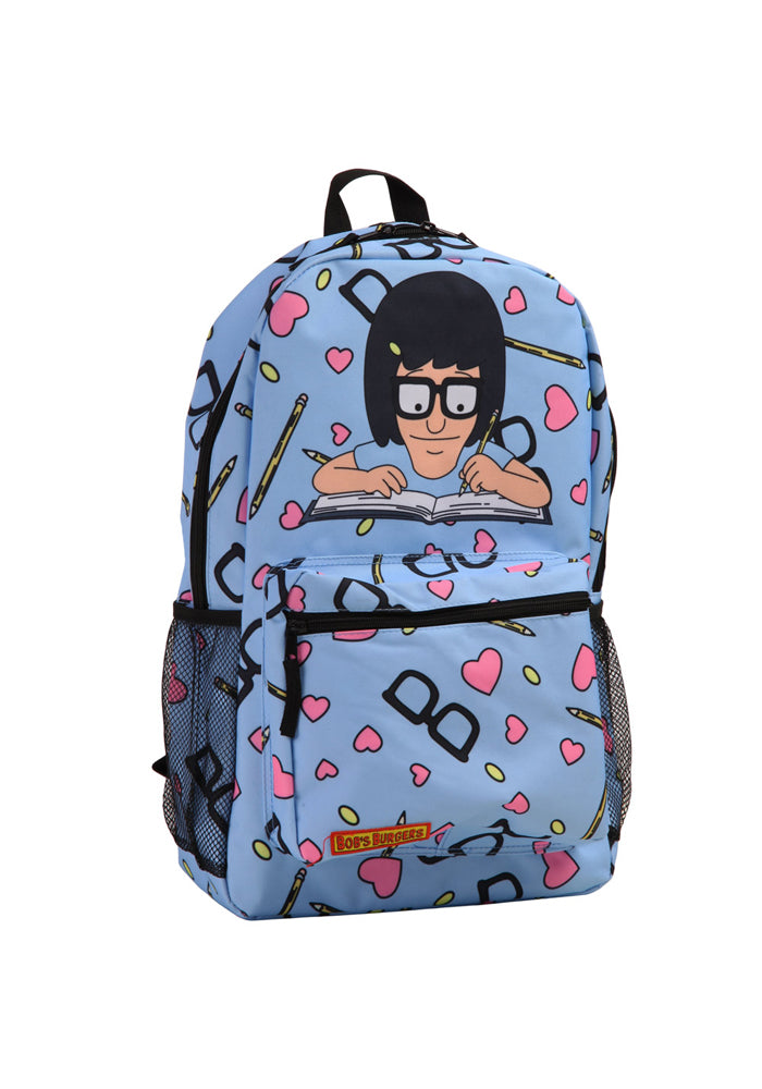 BOB'S BURGERS Tina Writing Friend Fiction Backpack