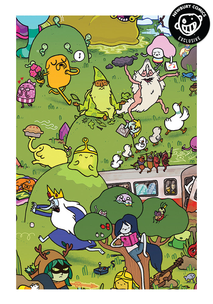 ADVENTURE TIME Adventure Time #18 - Maris Wicks Exclusive Cover