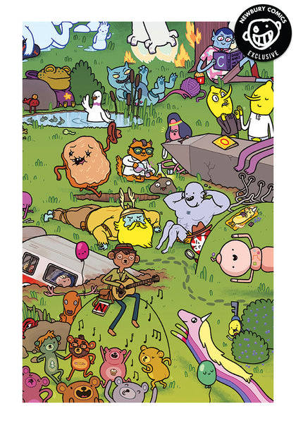 Adventure Time 1 Candy Capers Maris Wicks Exclusive Cover