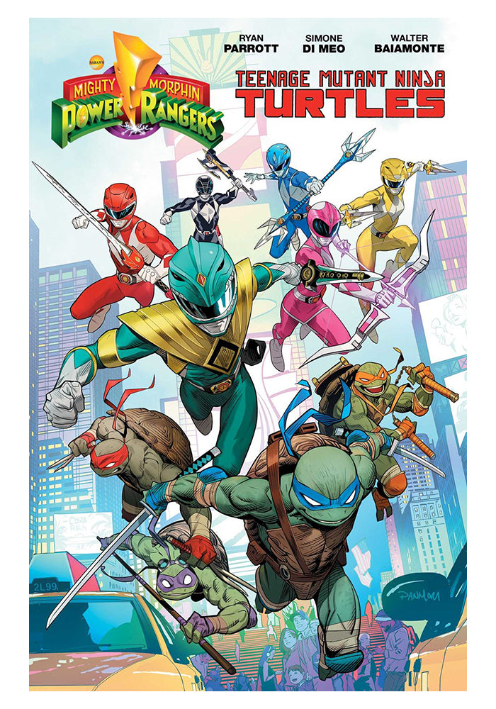 BOOM STUDIOS Mighty Morphin Power Rangers / Teenage Mutant Ninja Turtles Graphic Novel