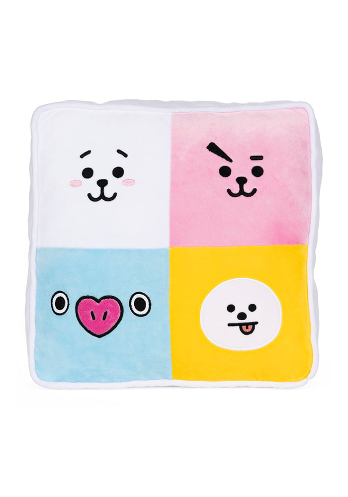 "BT21 BT21 Pillow 12"" Plush"
