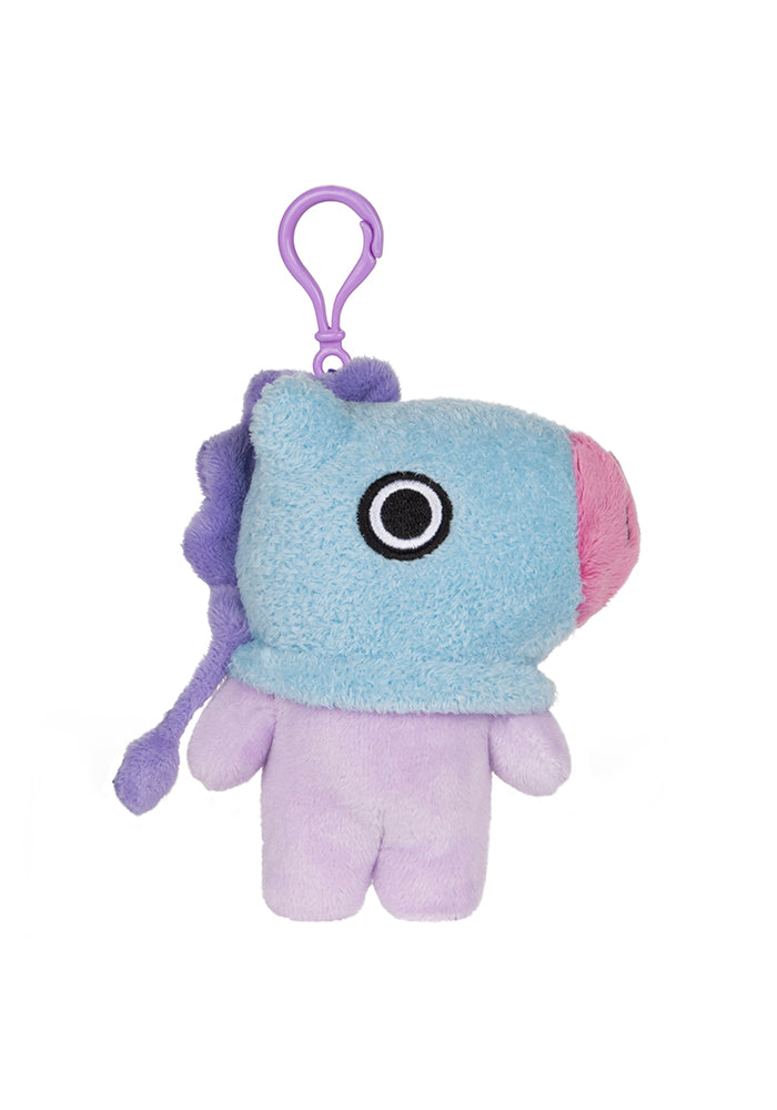 "BT21 MANG 4"" Plush Backpack Clip"