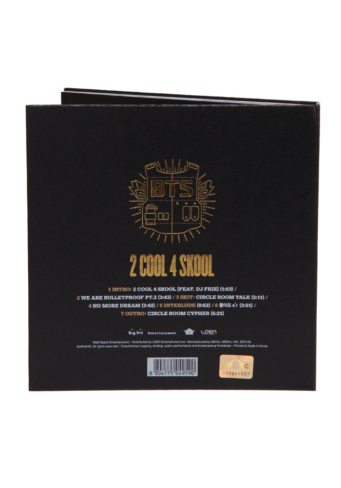 BTS 2 Cool 4 Skool CD