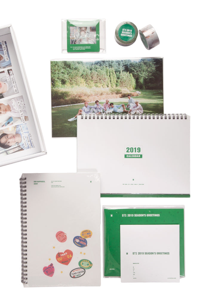 BTS BTS Season's Greetings 2019 Box Set