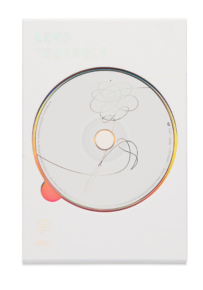 BTS Love Yourself: Her CD