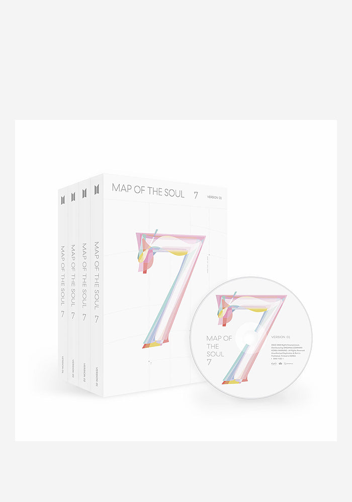BTS Map Of The Soul: 7 CD