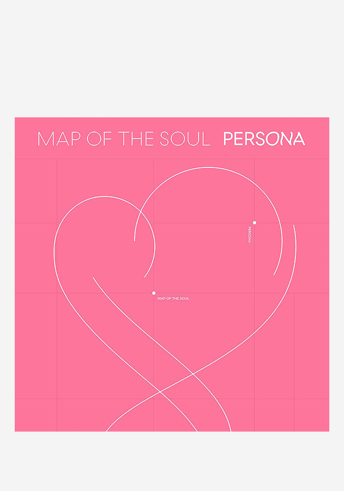 BTS Map Of The Soul: PERSONA CD
