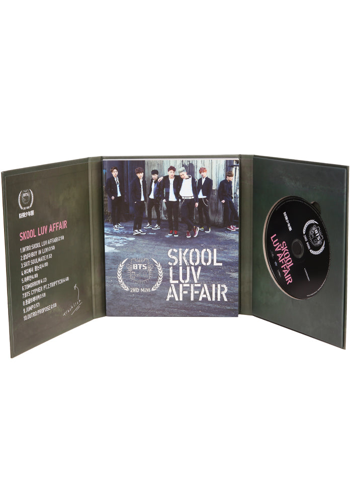 BTS Skool Luv Affair CD