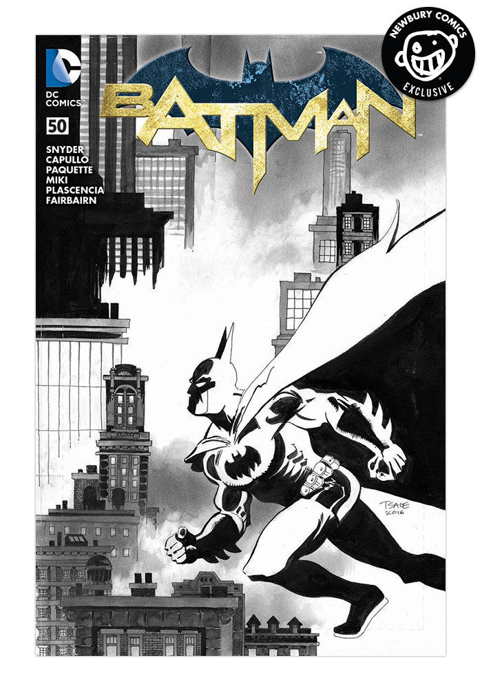 DC COMICS Batman #50 Tim Sale Variant Comic (Black & White)