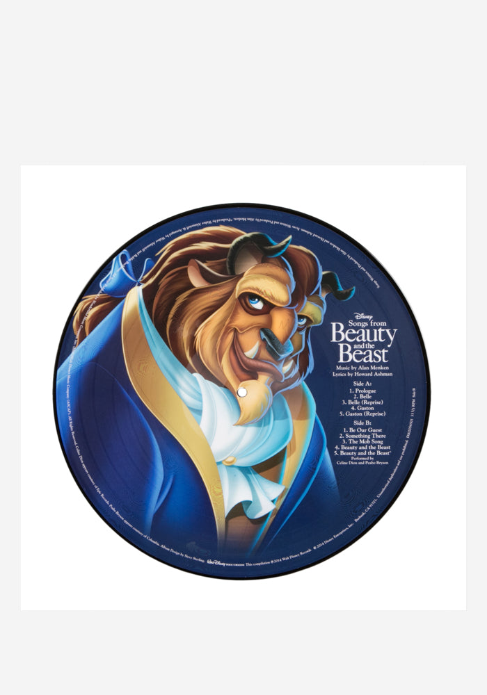 VARIOUS ARTISTS Soundtrack - Songs from Beauty And The Beast LP (Picture Disc)