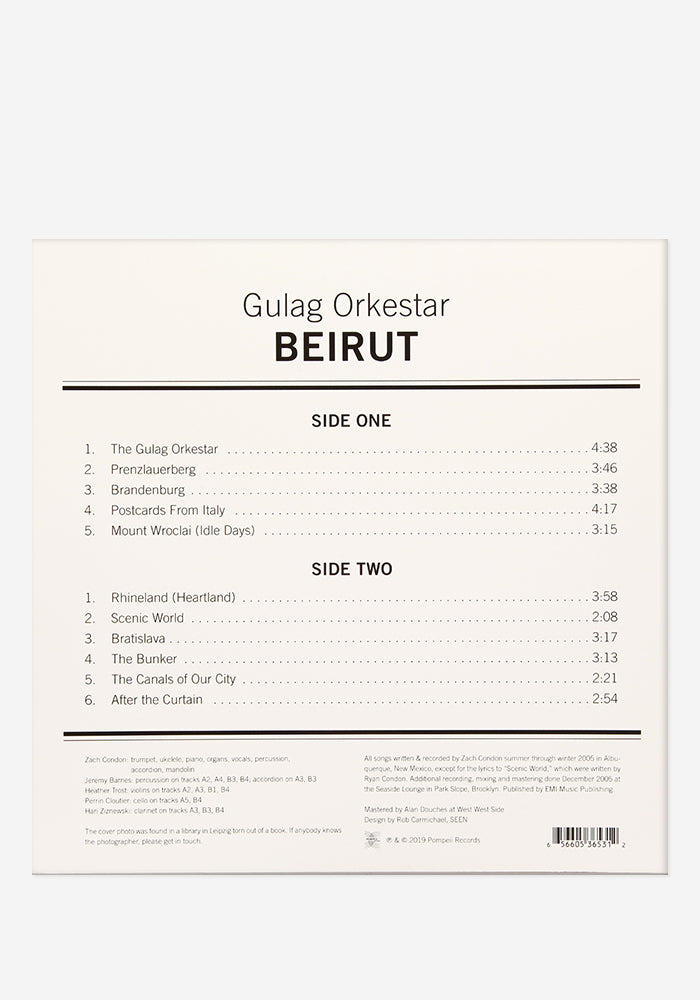 BEIRUT Gulag Orkestar Exclusive LP