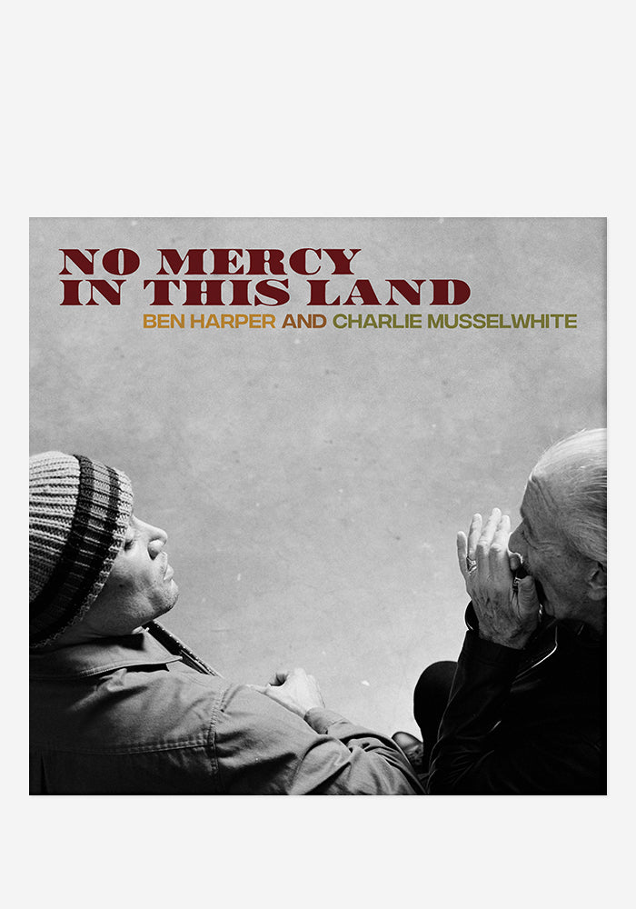 BEN HARPER AND CHARLIE MUSSELWHITE No Mercy In This Land With Autographed CD Booklet