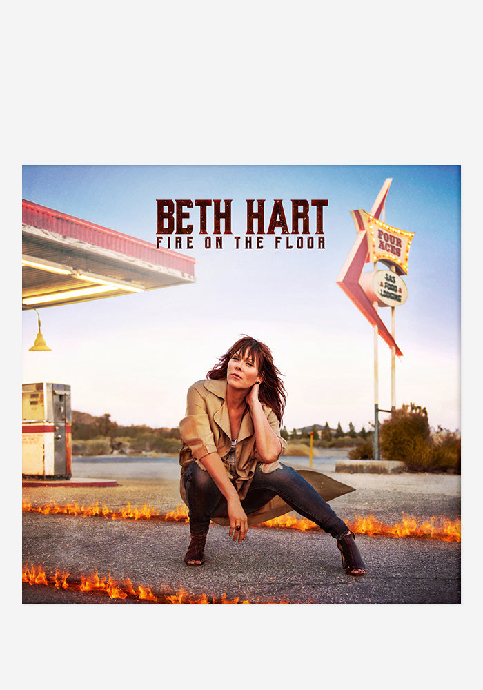BETH HART Fire On The Floor With Autographed CD Booklet