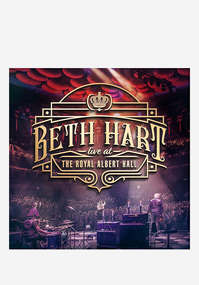 BETH HART Beth Hart Live At The Royal Albert Hall CD With Autographed Postcard